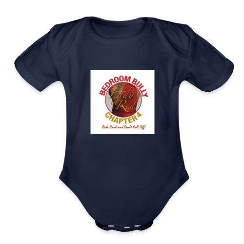 Lady in Red Bedroom Bully - Organic Short Sleeve Baby Bodysuit