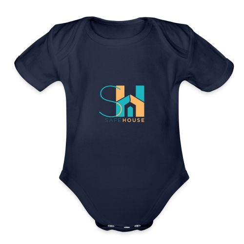 SafeHouse - Organic Short Sleeve Baby Bodysuit