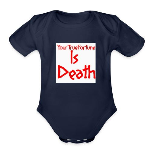 YOUR TRUE FORTUNE - Organic Short Sleeve Baby Bodysuit