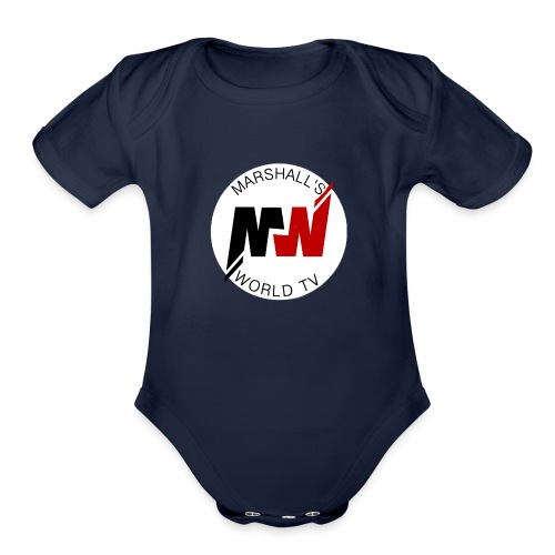 Marshalls World Tv - Organic Short Sleeve Baby Bodysuit