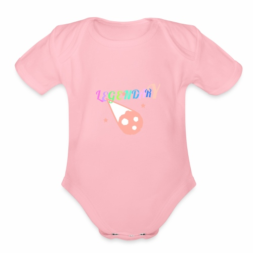 Legendary - Organic Short Sleeve Baby Bodysuit
