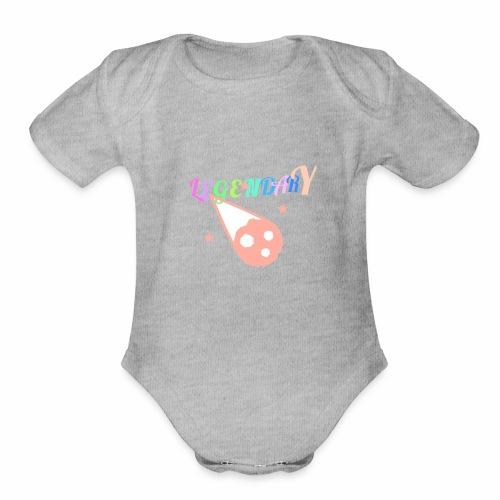 Legendary - Organic Short Sleeve Baby Bodysuit