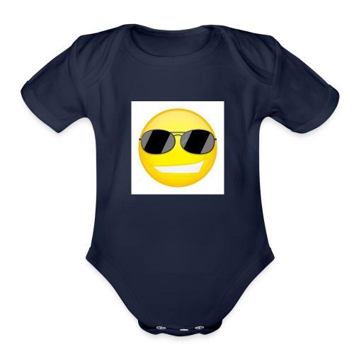 Bonnehomme Jaune - Organic Short Sleeve Baby Bodysuit