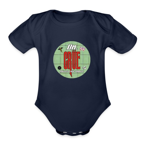 Dr Crue - Organic Short Sleeve Baby Bodysuit