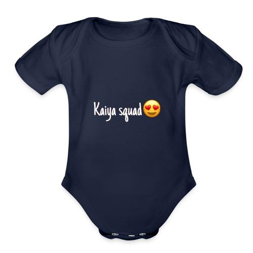Kaiya's merch - Organic Short Sleeve Baby Bodysuit