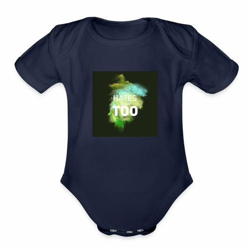 We all hate Mondays - Organic Short Sleeve Baby Bodysuit