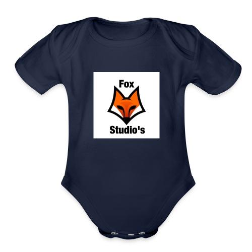Fox Gaming Merchandise - Organic Short Sleeve Baby Bodysuit