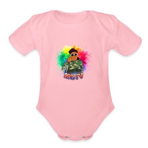 NEW MGTV Clout Shirts - Organic Short Sleeve Baby Bodysuit