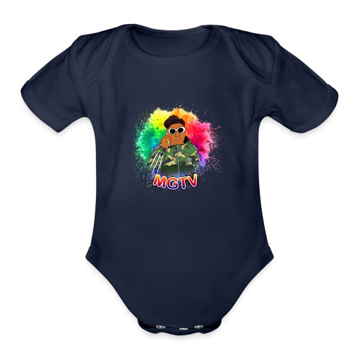 NEW MGTV Clout Shirts - Organic Short Sleeve Baby Bodysuit