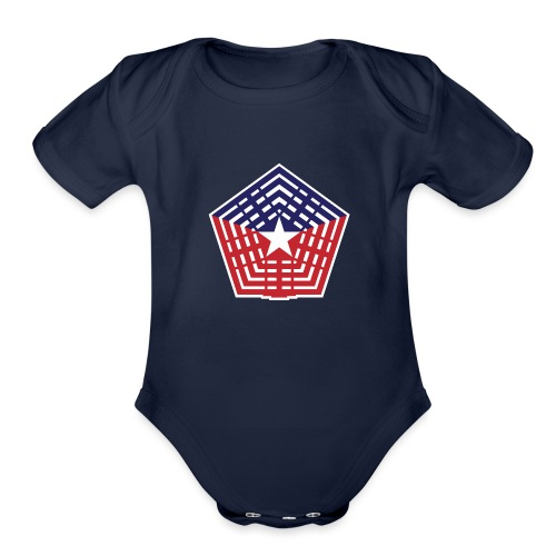 The Pentagon - Organic Short Sleeve Baby Bodysuit