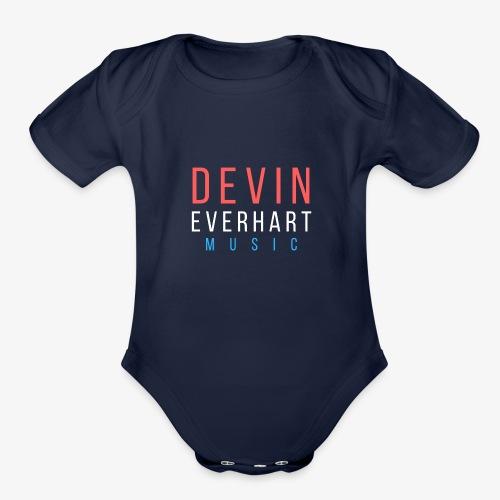 Devin Everhart Music - Organic Short Sleeve Baby Bodysuit