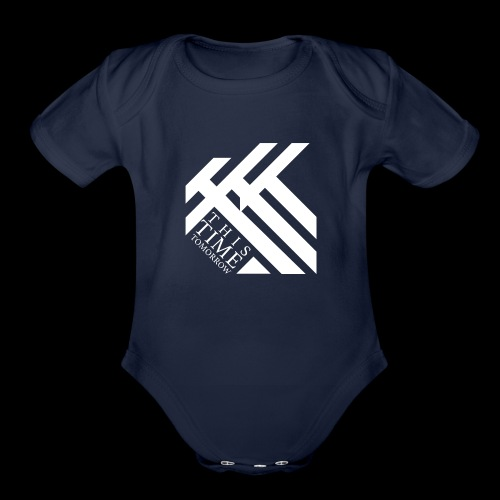 This Time Tomorrow - Organic Short Sleeve Baby Bodysuit