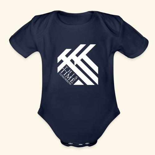 This Time Tomorrow - Organic Short Sleeve Baby Bodysuit