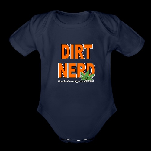 Dirt Nerd - Organic Short Sleeve Baby Bodysuit