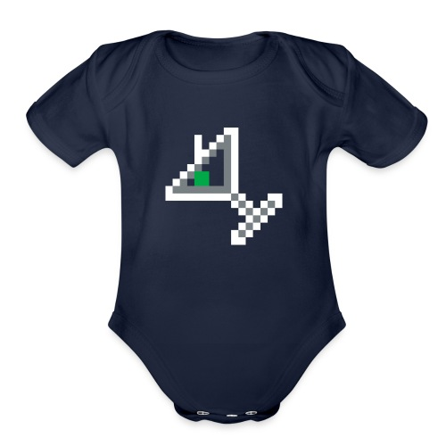 item martini - Organic Short Sleeve Baby Bodysuit