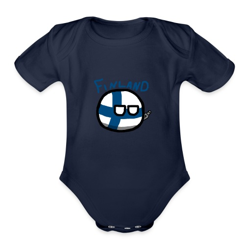 Finlandball - Organic Short Sleeve Baby Bodysuit
