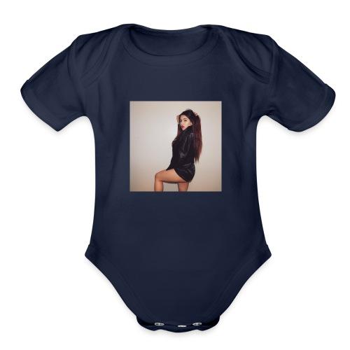 Samantha - Organic Short Sleeve Baby Bodysuit