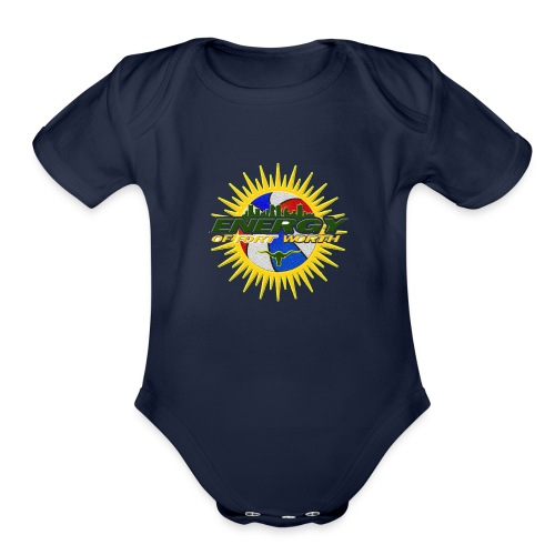 The Energy of Fort Worth Texas - Organic Short Sleeve Baby Bodysuit
