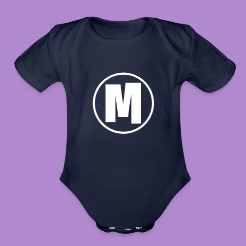 *2 YEAR ANNIVERSARY* Mikaylah LOGO - Organic Short Sleeve Baby Bodysuit