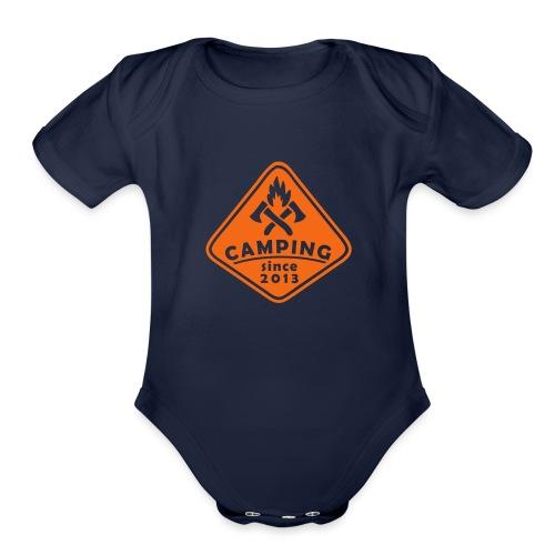 Campfire 2013 - Organic Short Sleeve Baby Bodysuit