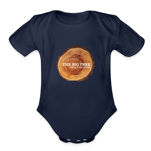 The Big Tree - Organic Short Sleeve Baby Bodysuit