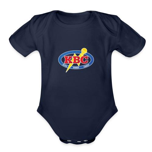 Kevin Banner Comedy - Organic Short Sleeve Baby Bodysuit