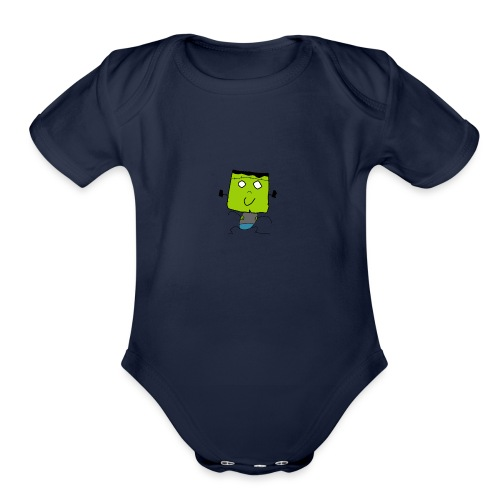 Frankenboy - Organic Short Sleeve Baby Bodysuit