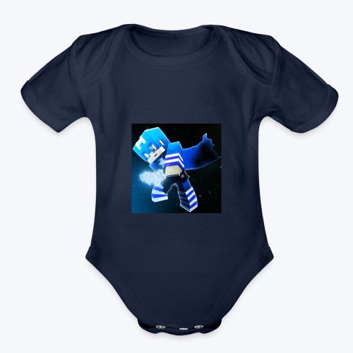 tooreon lofton gaming lame merch - Organic Short Sleeve Baby Bodysuit