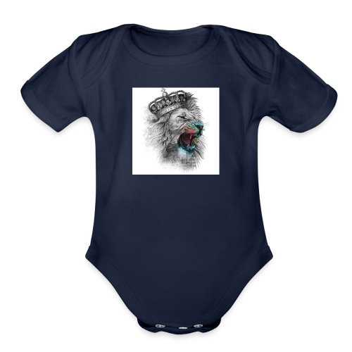 Domestic - Organic Short Sleeve Baby Bodysuit
