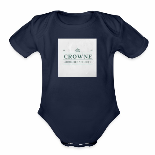 spiritnight 1 - Organic Short Sleeve Baby Bodysuit