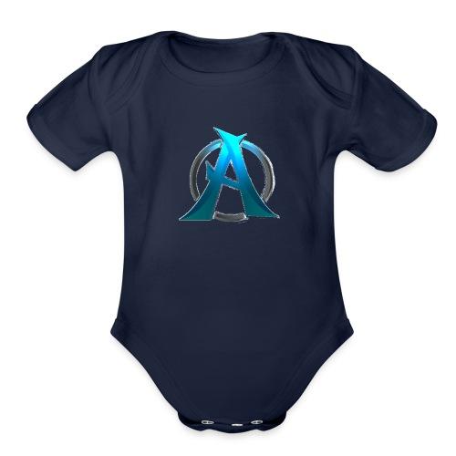avatar - Organic Short Sleeve Baby Bodysuit