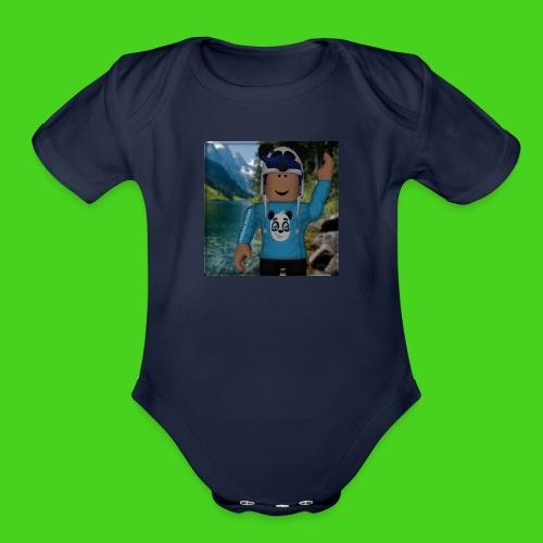 ROBLOX SWEATSHRIT - Organic Short Sleeve Baby Bodysuit