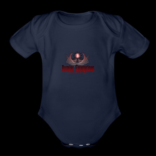 logo3 - Organic Short Sleeve Baby Bodysuit