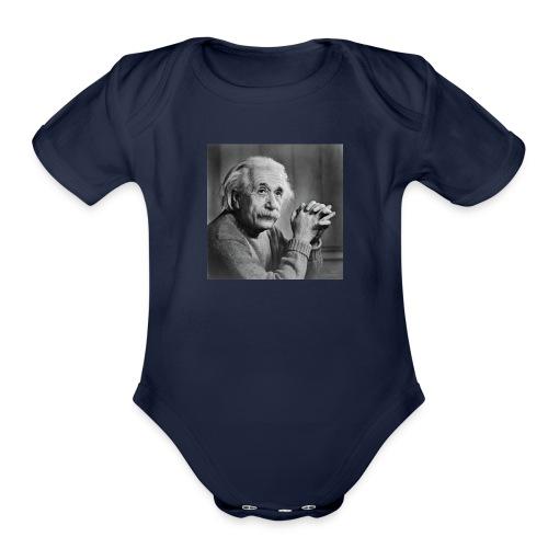 Albert Einstein - Organic Short Sleeve Baby Bodysuit