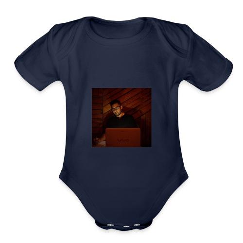 Just Me - Organic Short Sleeve Baby Bodysuit