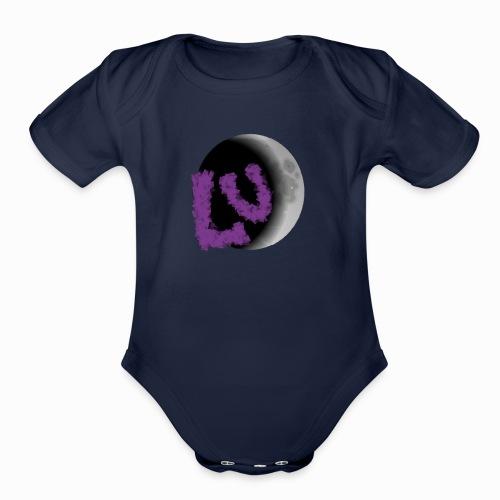 Lunar Eclipse - Organic Short Sleeve Baby Bodysuit