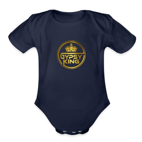 The gypsy king boxer - Organic Short Sleeve Baby Bodysuit