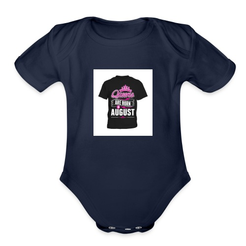 aout - Organic Short Sleeve Baby Bodysuit
