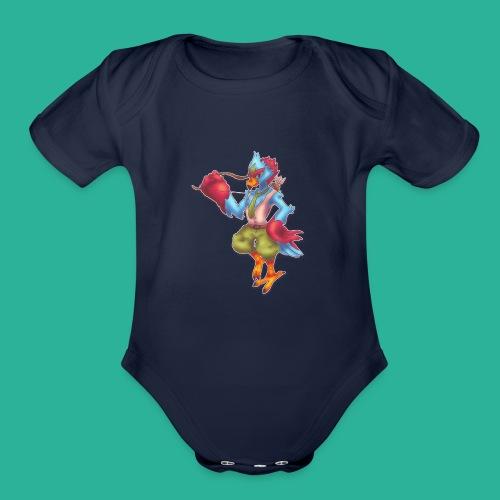Tronis - Organic Short Sleeve Baby Bodysuit