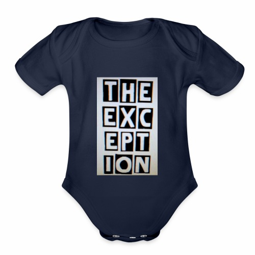 The Exception Campaign - Organic Short Sleeve Baby Bodysuit
