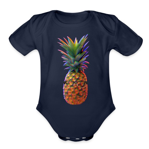 Piña Life - Organic Short Sleeve Baby Bodysuit