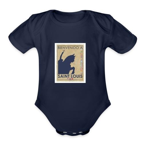 Bienvenido A Saint Louis - Organic Short Sleeve Baby Bodysuit