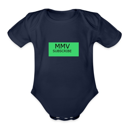 MMV BEST IN ONE - Organic Short Sleeve Baby Bodysuit