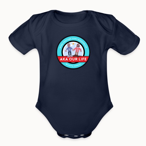 AKA Our Life - Organic Short Sleeve Baby Bodysuit