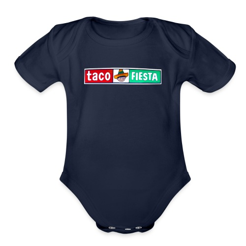 Taco Fiesta - Organic Short Sleeve Baby Bodysuit