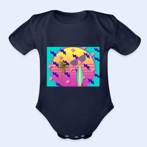 FED00D4C 23ED 4C28 AAAC CB62843983E6 - Organic Short Sleeve Baby Bodysuit