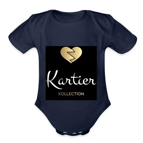2CCDB180 A14F 4023 8044 DE1B0EFCA1A6 - Organic Short Sleeve Baby Bodysuit