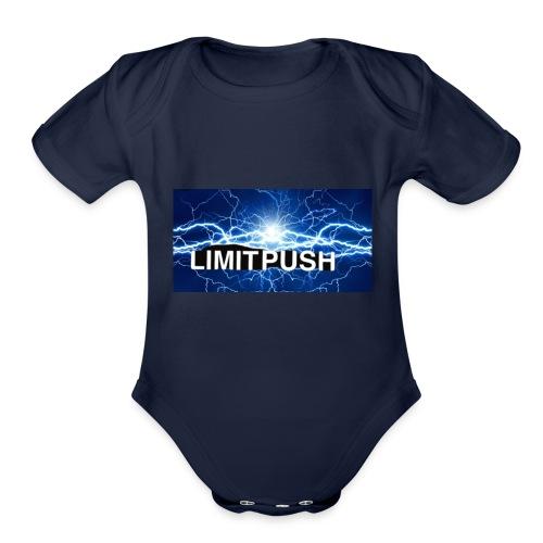 Limit Push - Organic Short Sleeve Baby Bodysuit