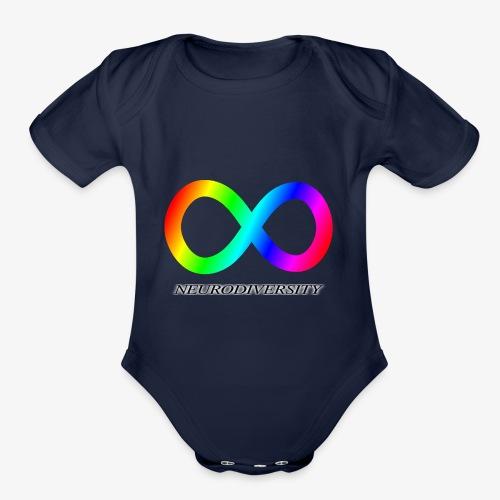 Neurodiversity - Organic Short Sleeve Baby Bodysuit