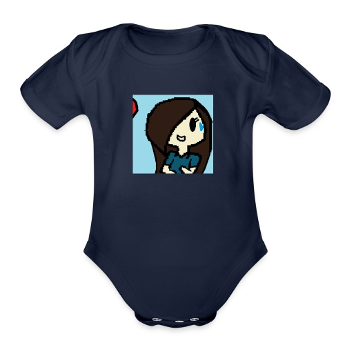 Animation Case - Organic Short Sleeve Baby Bodysuit
